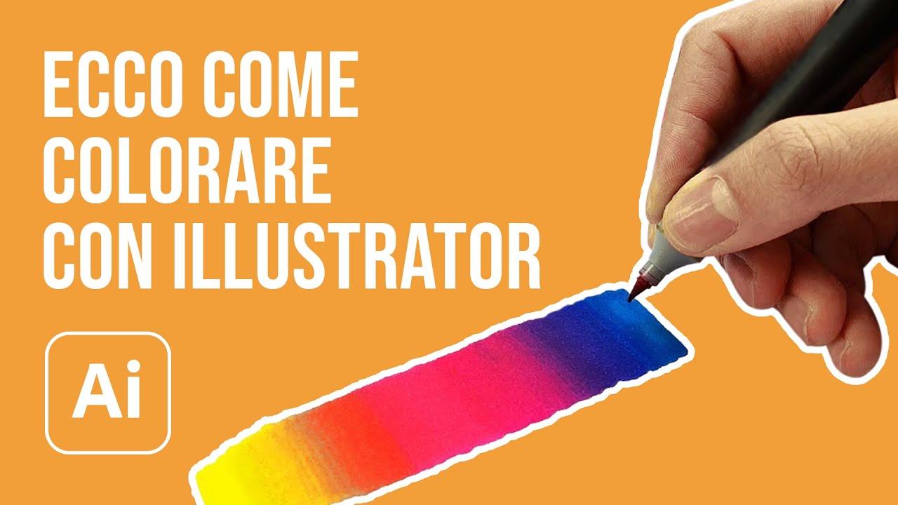 Colorare Con Illustrator Le Migliori Tecniche E Strumenti