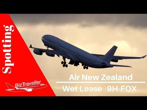 [Hi Fly Malta] Air New Zealand Wet Lease A340 Auckland to Sydney