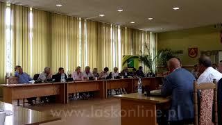 XLVII sesja Rady Miejskiej w Łasku cz. 2