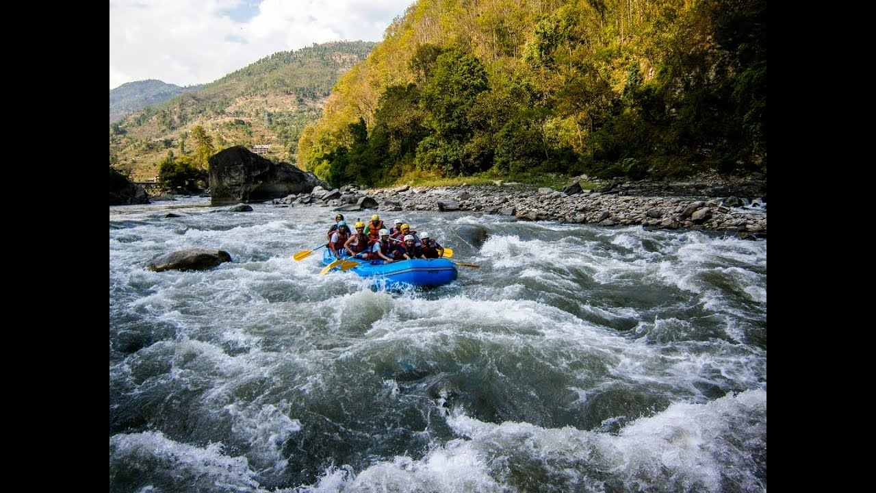 Bhote Koshi River Rafting originate in the palteau of tibet