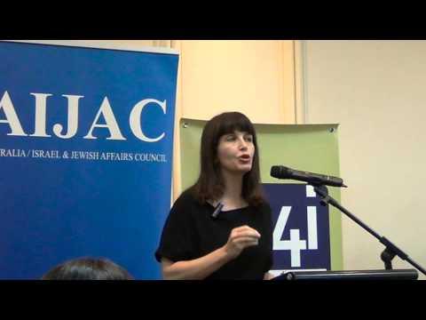 Einat Wilf on Israel's battle against its delegitimisation