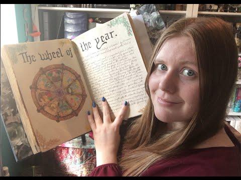 YouTube Pagan Challenge Week 21 - Book of Shadows