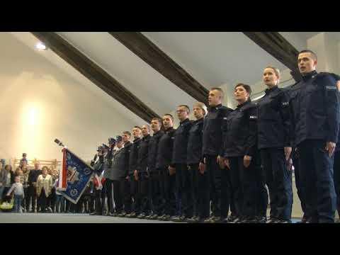 OLSZTYN24: Ślubowanie Policjantów KWP W Olsztynie [12.03.2019]