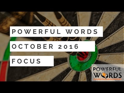 Dr. Robyn Silverman introduces the Oct 2016 Powerful Word of the ...