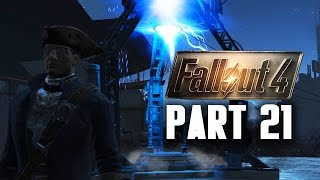 Fallout 4 Walkthrough Part 21 - BUILDING THE MOLECULAR LEVEL (SIGNAL INTERCEPTOR)