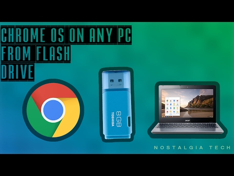 CHROME OS ON USB FLASH DRIVE