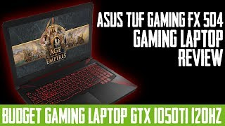 ASUS FX504 Gaming Laptop Review | Best Budget Gaming Laptop ? | 120Hz Gaming Laptop