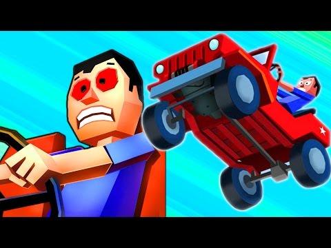 МАШИНКА БЕЗ ТОРМОЗОВ #1 Игровой видео  про машинки  .  Игра Faily Brakes для мальчиков