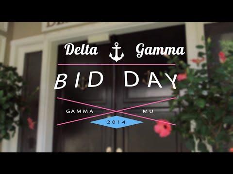 Delta Gamma Bid Day @ FSU 2014