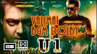 Valimai Motion Poster BGM Dolby | HBi Yuvan Shankar Raja Theme Music Dolby #Valimai #ValimaiUpdate