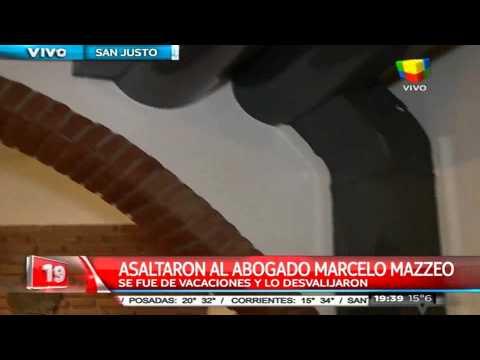 Asaltan y casi destruyen la casa del abogado Marcelo Mazzeo