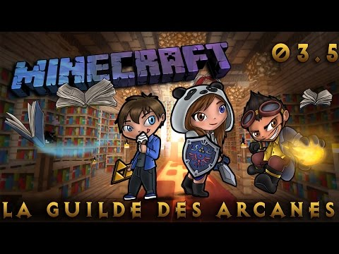 [Minecraft] La Guilde des Arcanes - Episode 3.5 - Premier sort! by SianaPanda