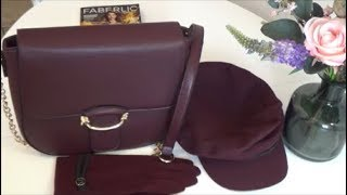 Какие обновочки для нас девочек Кепи сумочка перчатки ФАберлик
