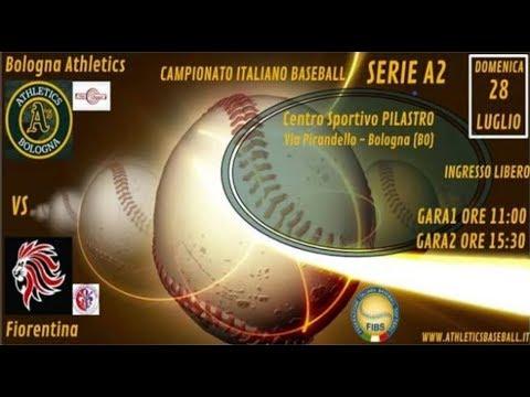 Gara 1 - Live Baseball - Bologna Vs Fiorentina Serie A2