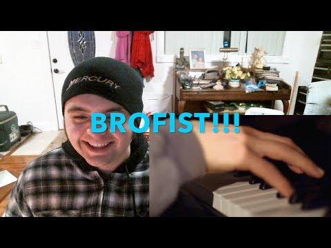 BROFIST (PewDiePie Song, By Roomie) REACTION