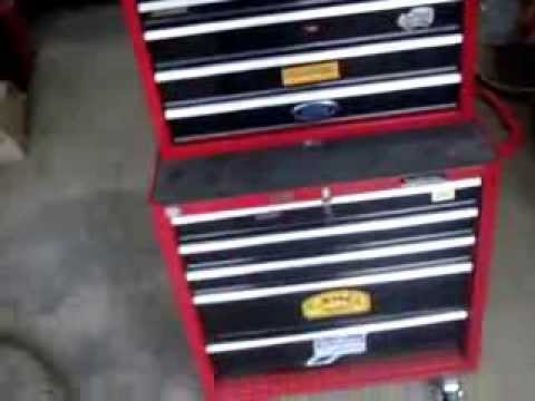 my halfords tool chest youtube. Black Bedroom Furniture Sets. Home Design Ideas