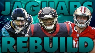 The Craziest Trades I've Ever Had! Fantasy Rebuild of the Jacksonville Jaguars! Madden 19 Franchise