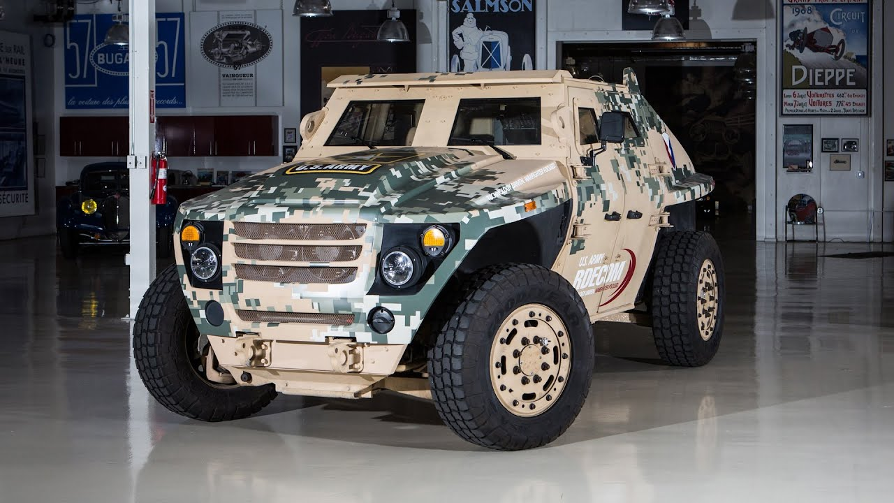 U s army fed jay leno 39 s garage youtube for Garage energy automobiles
