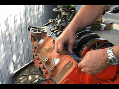 How to Assemble a Chevy Engine Part 3