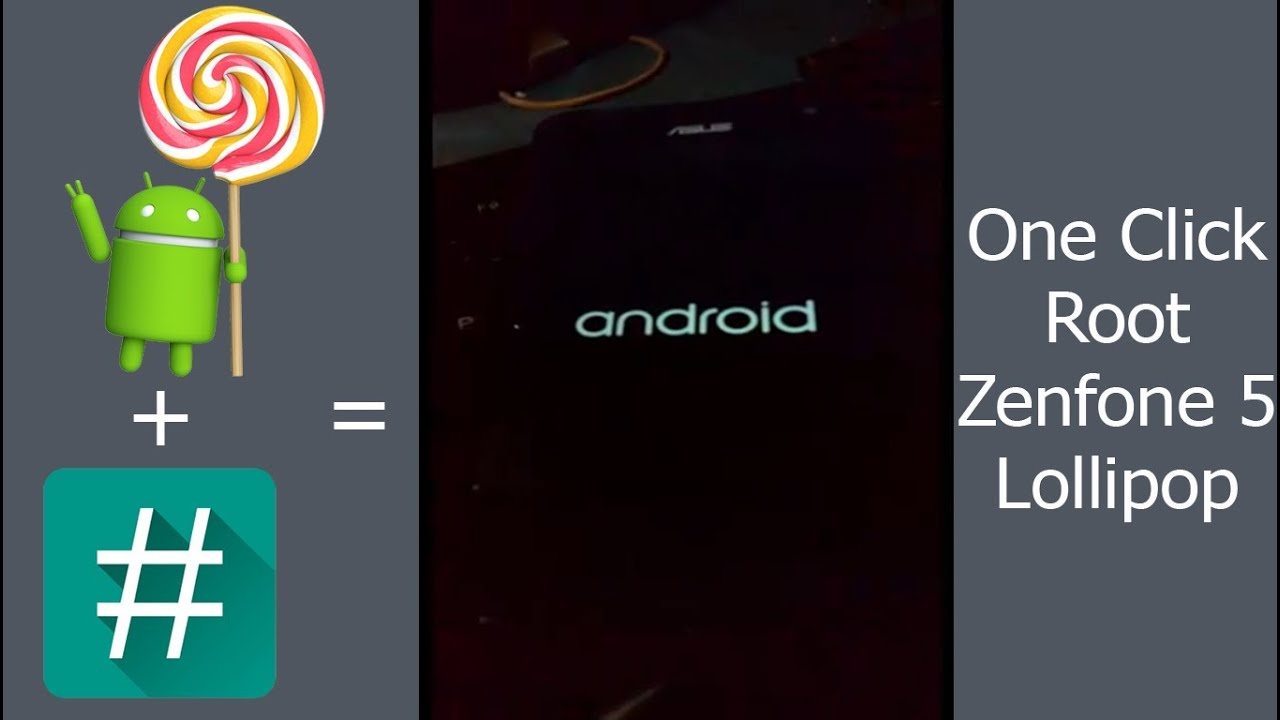 Root Asus Zenfone Lollipop One Click Youtube