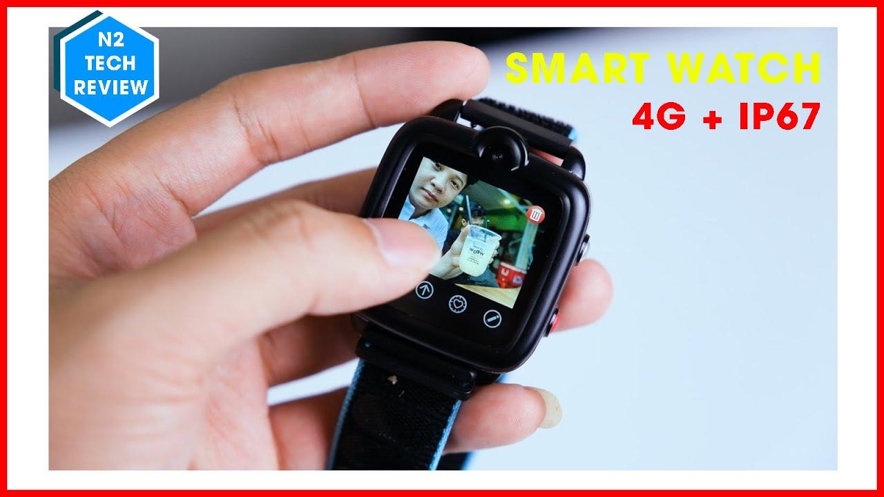 Smart Watch giá rẻ có 4G và Wifi hỗ trợ Video Call - Ticktalk 3