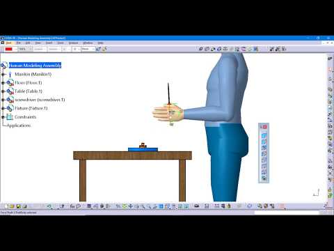 How to execute a manikin hand grasp in CATIA V5