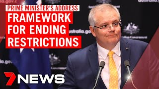 COVID-19 update from Prime Minister Scott Morrison: restrictions set to be lifted