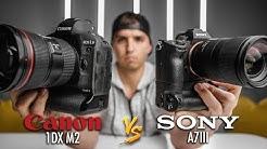 Canon 1dx Mark II vs. Sony a7iii - Am I Switching to Sony??