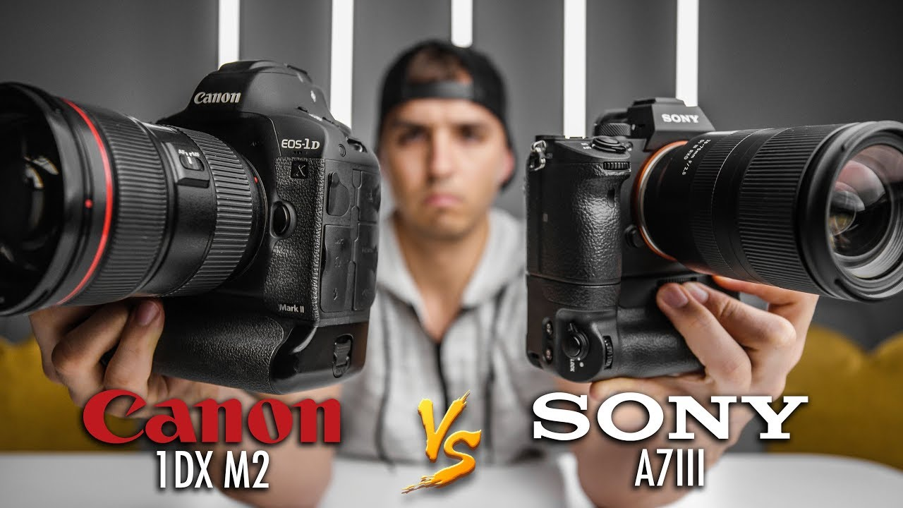 Canon 1DX Mark II vs  Sony A7III for Shooting Video | 4K Shooters