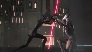 Star Wars Rebels - Ahsoka vs 5th Brother & 7th Sister