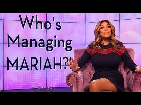 Wendy Williams Talks About Mariah Carey's NEW Manager! (2017)