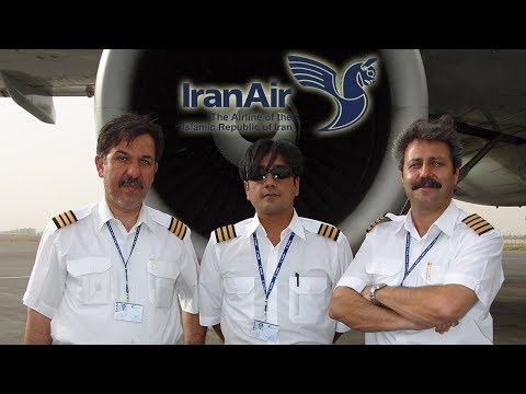 IRAN B747SP, B727-200, A300, A310 & Fk100