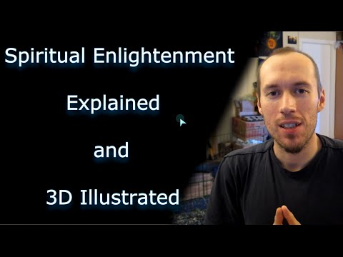Spiritual Enlightenment Explained and 3D Illustrated