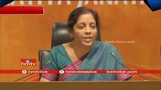 Nirmala Sitharaman Fires On Rahul Gandhi Comments | Telugu News | hmtv News