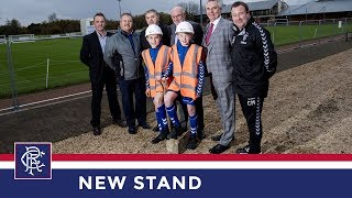ACADEMY   New Stand Build   Hummel Training Centre