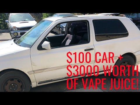 Can You Use VAPE JUICE as ENGINE OIL?
