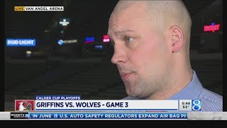 Griffins hope to gain momentum against Wolves