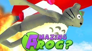 NEW CHARACTER BREAKS FLYING RECORD - Amazing Frog - Part 119 | Pungence