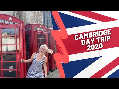 CAMBRIDGE, UK DAY TRIP VLOG | SUMMER 2020