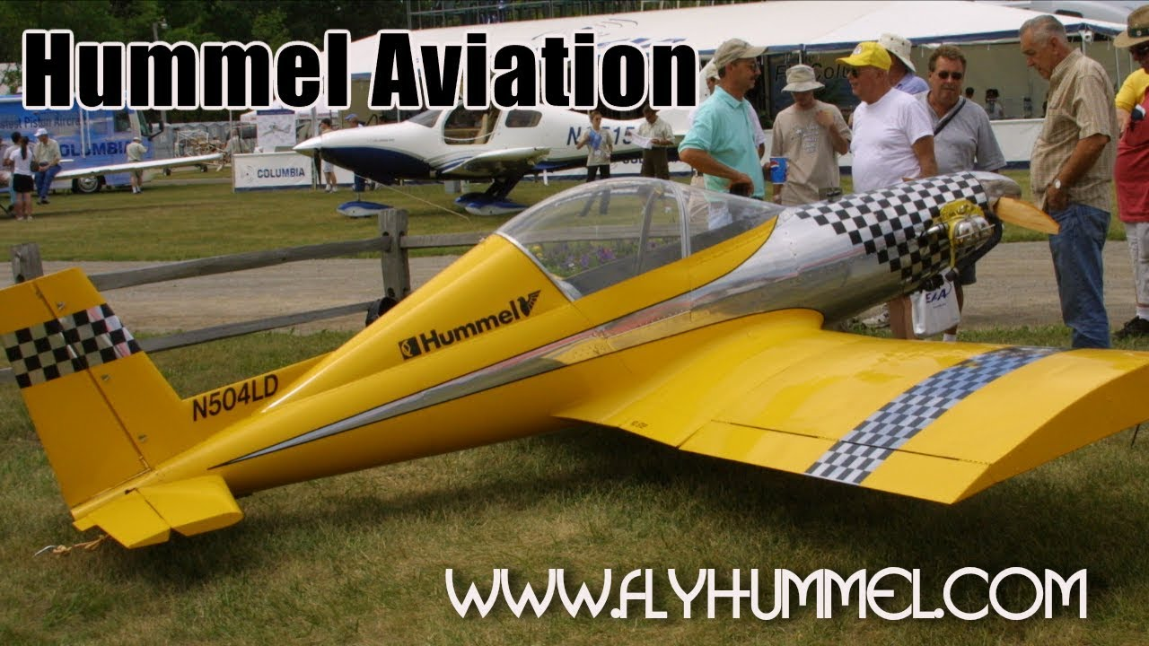 Hummel Aviation, Hummel Bird, Hummel H5 and UltraCruiser all metal  ultralight, experimental aircraft