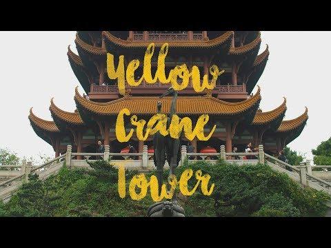 Yellow Crane Tower in Wuhan, China