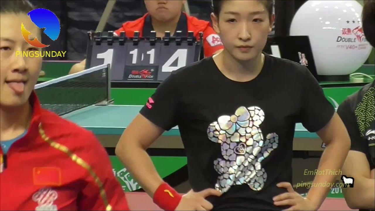 Download Liu Shiwen 1 hour training with coach Ma Lin