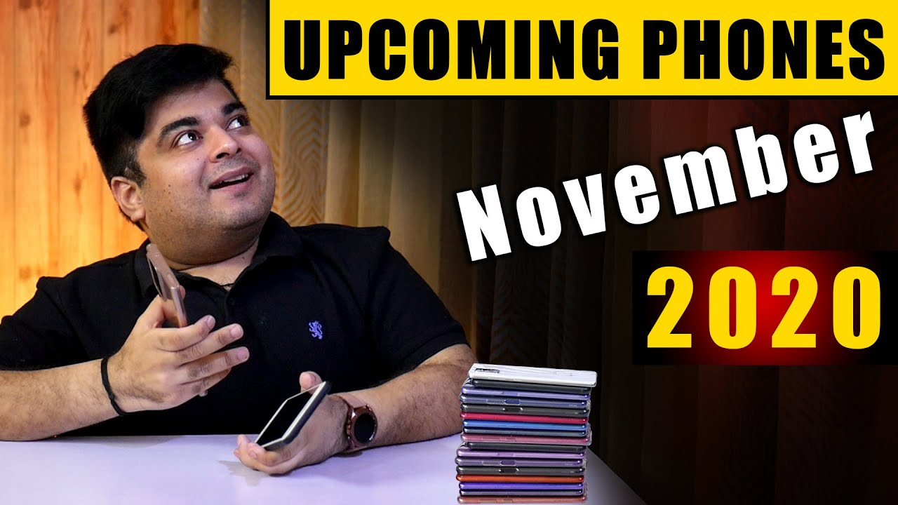 Top 10+ Best Upcoming Mobile Phone Launches in November 2020 | GAME CHANGER⚡