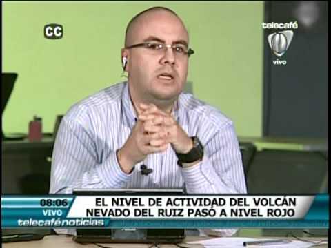 Cubrimiento Telecafé Erupción Volcán Nevado del Ruiz.VOB