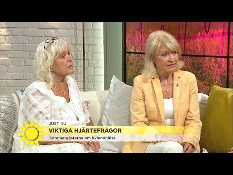 Schollin och Charles: Kvinnor får ofta fel diagnos för sina hjärtproblem  Nyhetsmorgon TV4