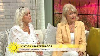 Schollin och Charles: Kvinnor får ofta fel diagnos för sina hjärtproblem - Nyhetsmorgon (TV4)