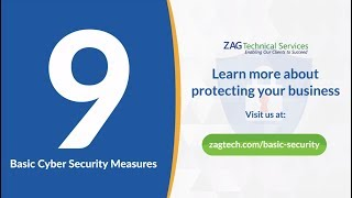 9 Basic Cyber Security Measures to Protect Your Business