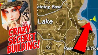 HIDDEN SECRET LOOT BUILDING! Rules Of Survival Gameplay + Loot Areas! (Mobile Fortnite/PUBG)