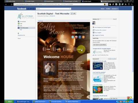 microsite templates free - how to create facebook template microsite using iframes
