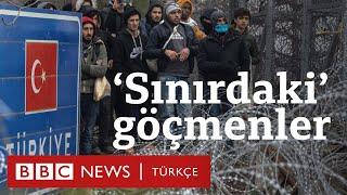 Mülteci krizi: Edirne'de Yunanistan sınırında bekleyenler
